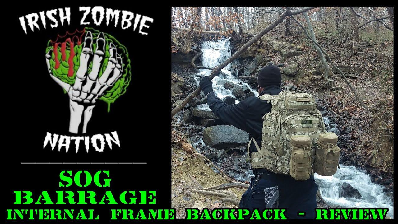 Sog Barrage Internal Frame Backpack Review Youtube