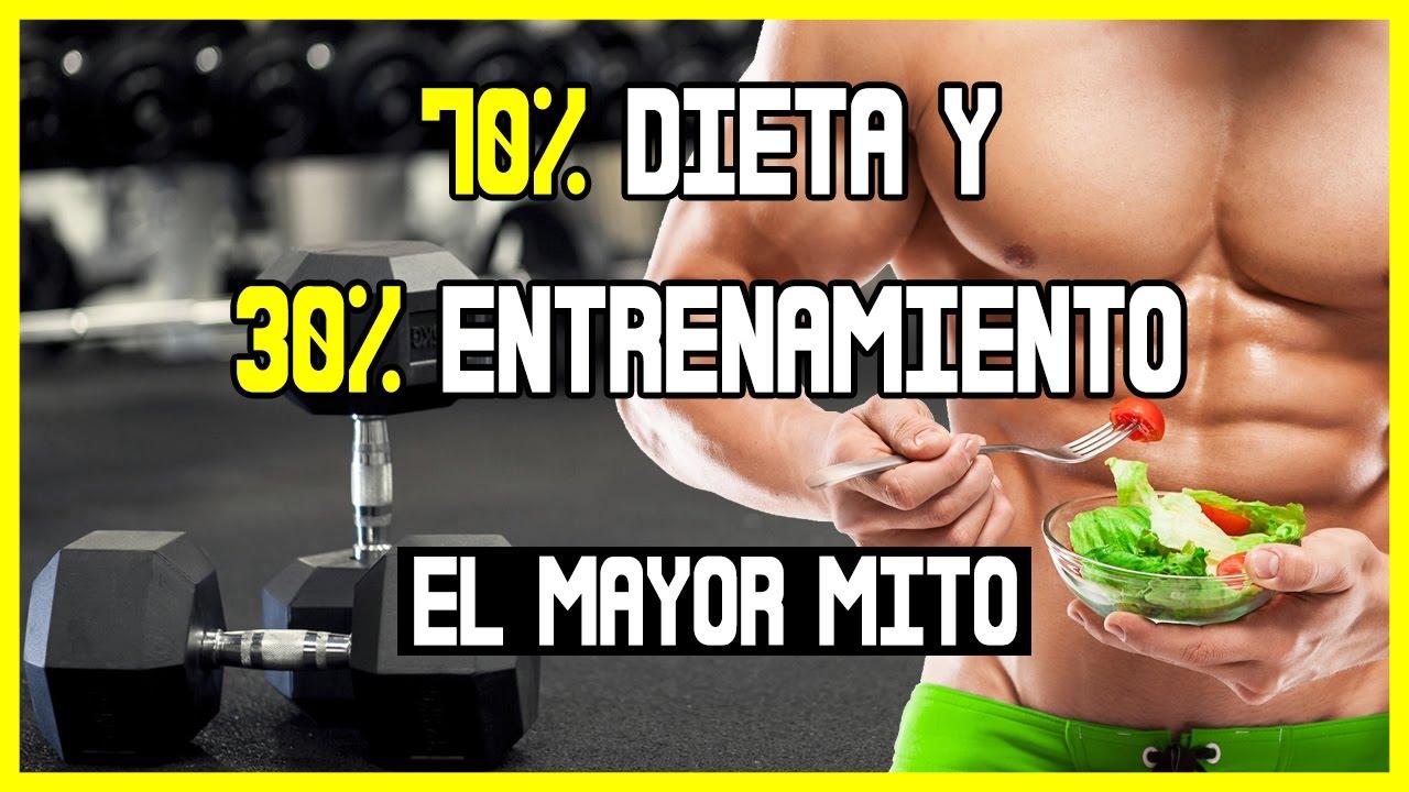 dieta para entrenamiento gimnasio