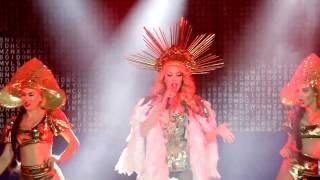Оля Полякова, концерт Новый год 2017 компании