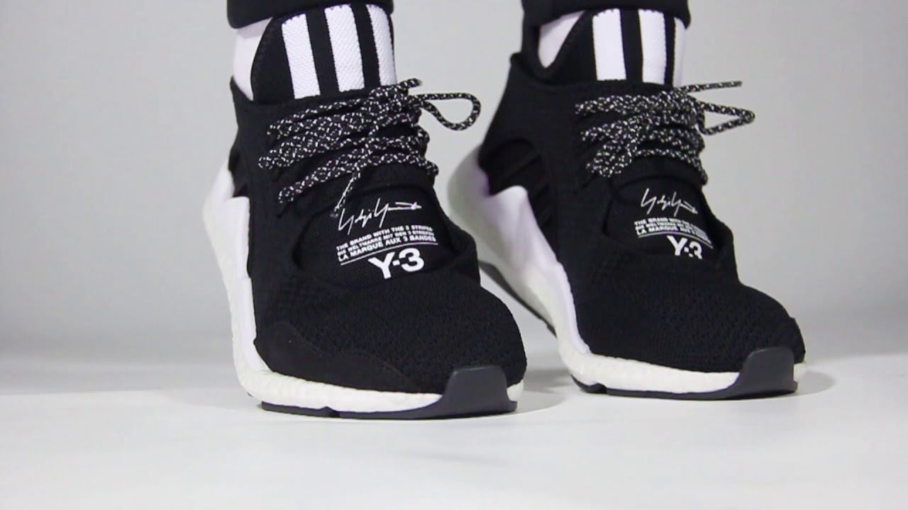 23c2a5b078ebf Y3 Saikou Sneakers First Look - YouTube