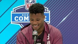 Saquon Barkley believes he can score from anywhere on the field