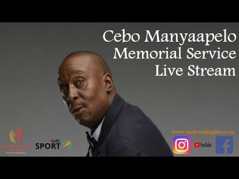 Funeral Service of Cebo Clement Manyaapelo