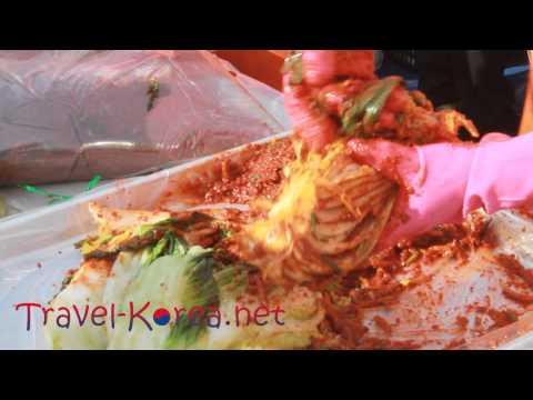 Kimchi Festival in Seoul, Korea [How to Make Kimchi]