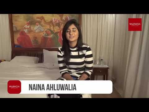 Naina Ahluwalia representing Valencia Group
