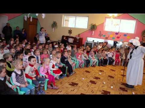 """Дитячий ранок """"Свято Миколая"""" ДНЗ № 5 м. Новояворівськ 2012"""