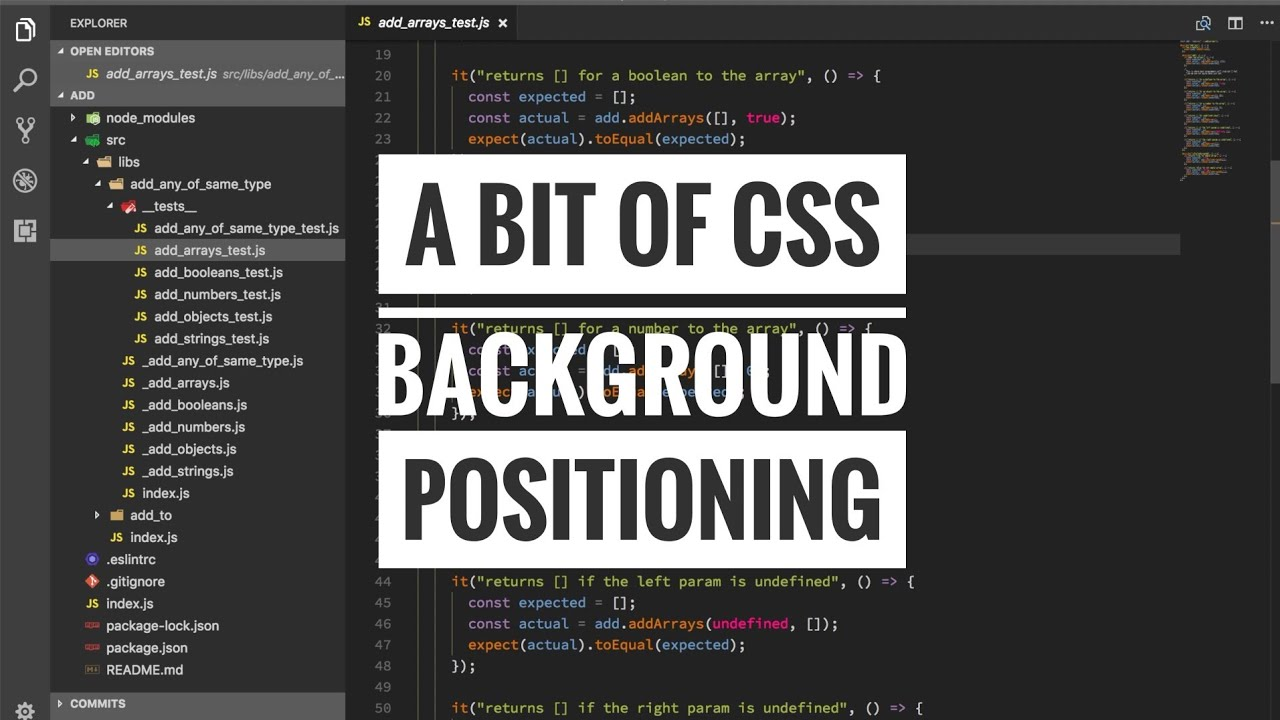 A bit of css - background positioning