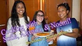 How to cook! - Enchiladas and Agua de Melon
