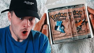 Unboxing Extremely Rare $1200 Pokemon Cards (1ST EDITION)