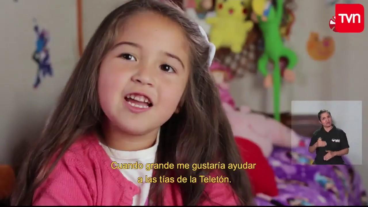 Download La historia de Amylee Oliva: La niña embajadora de la Teletón 2017  | Teletón 2017