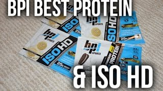 NEW BPI Sports: Best Protein & ISO HD (Supplements)