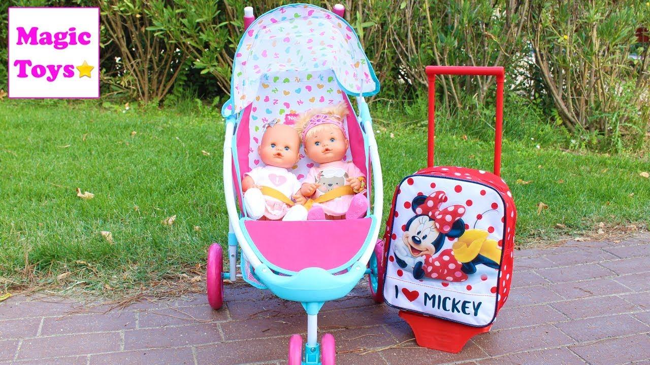 Las bebes nenuco hermanitas traviesas preparan la maleta - Nenuco bano de burbujas ...