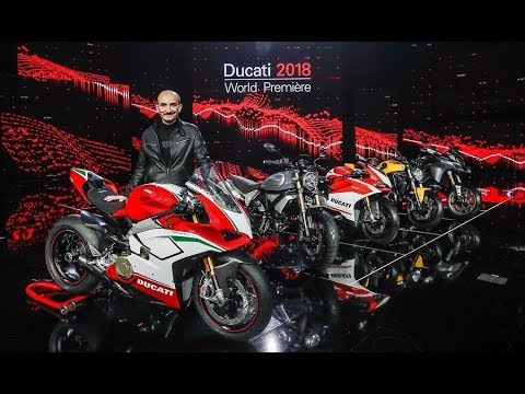 Ducati World Premiere 2018 - Panigale V4, Monster, Multistra