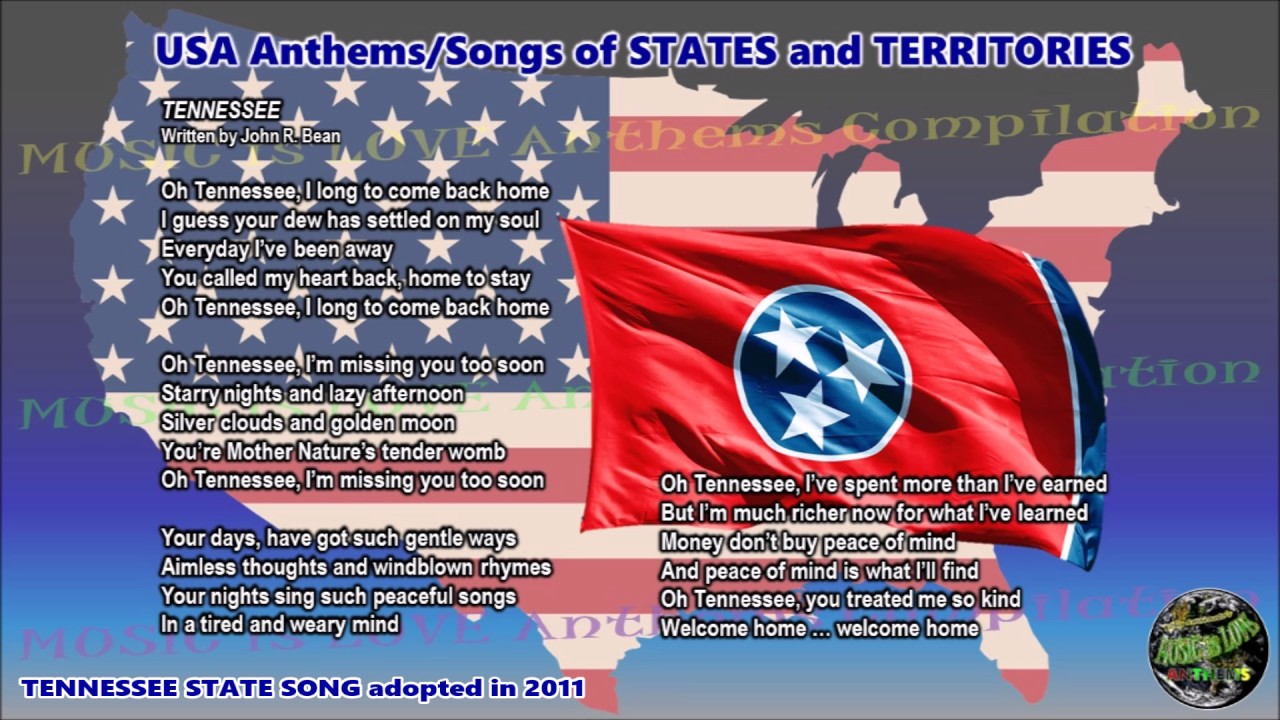 Tennessee state song tennessee with music vocal and lyrics youtube tennessee state song tennessee with music vocal and lyrics buycottarizona Images