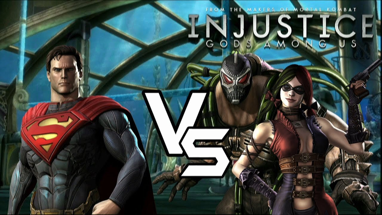 injustice gods among us lockdown superman vs knightfall