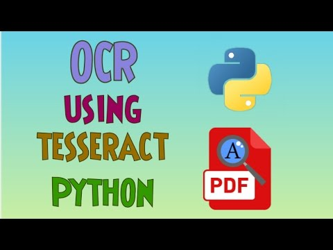 OCR(Optical Character Recognition) using Tesseract and Python | Part-2