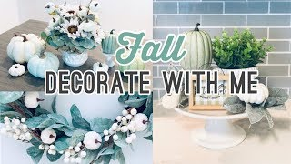 Fall Decorate With Me | Holiday Decor 2019 | Living Eng