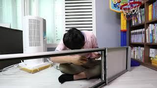 파세코 창문형 에어컨 (옵션 키트 사용) 설치 동영상