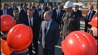 Керченский мост в Крым сегодня открытие 2018 Видео. Прямая трансляция онлайн. Путин смог.