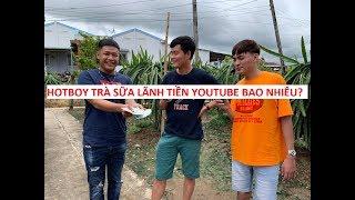 Hotboy Trà Sữa lãnh tiền youttube bao nhiêu mà mở đại tiệc mời Khương Dừa?