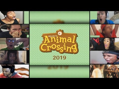 GAMERS REACTIONS TO ANIMAL CROSSING COMING TO THE SWITCH