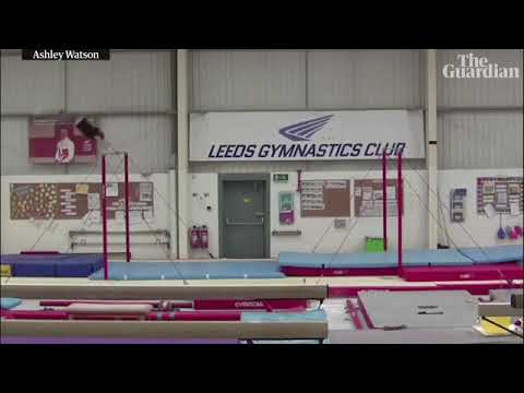 download Gymnast in Leeds sets horizontal bar backflip world record of nearly 32k ft
