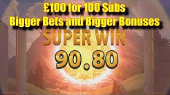 £100 for 100 subs - Bigger Bets and Bigger Bonuses - Online Slots - Genesis Casino - The Reel Story
