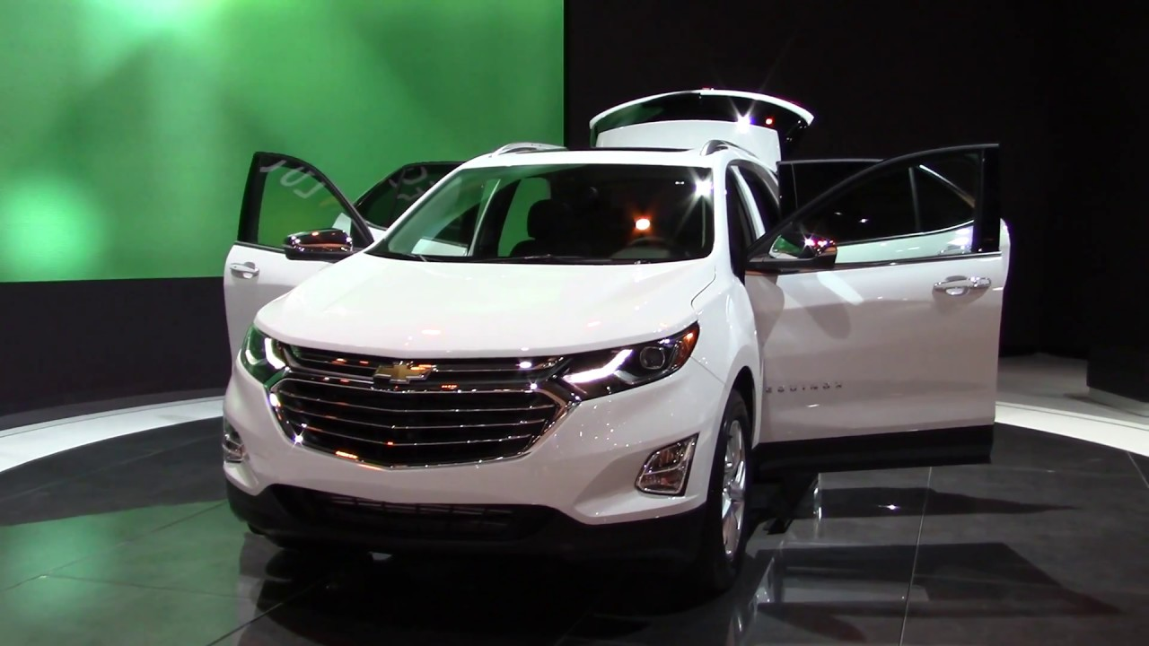 2018 chevrolet equinox diesel at the auto show youtube. Black Bedroom Furniture Sets. Home Design Ideas