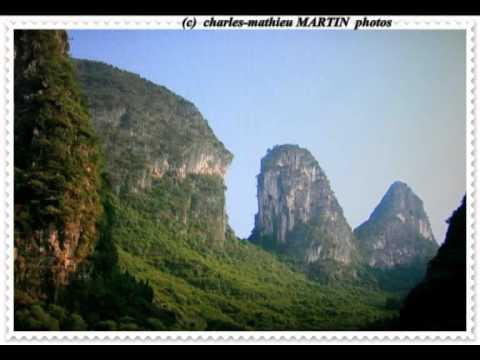 paysages de la chine