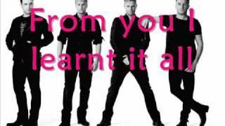 Westlife - Too Hard To Say Goodbye + Lyrics