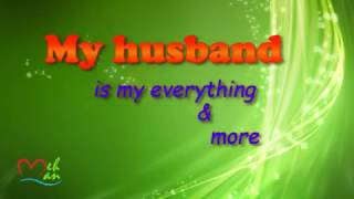 Message for husband