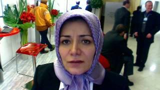 Fatemeh Haghighatjoo joins the Davos Debates 2010