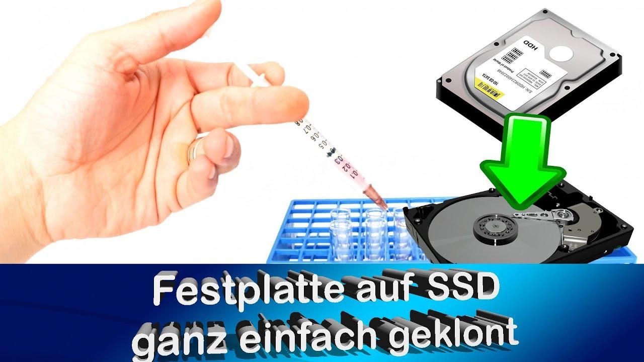 Festplatte Auf Ssd Klonen