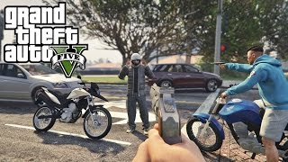GTA V | VIDA DO CRIME | FAN 150 DICHAVADA ASSALTO A XRE 300 #EP2