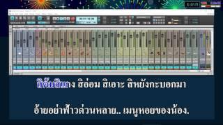 ล้างหอยคอยอ้าย เพชร สหรัตน์ Feat มดแดง จิราพร | KARAOKE by 7karaoke