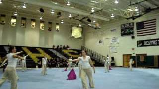 Millennium High School Winter Guard @ Basha High S