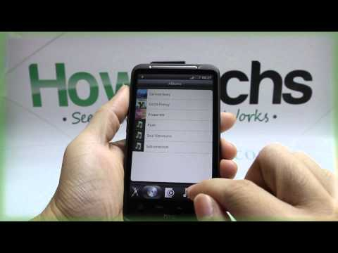HTC Desire HD: Review of the Music Player