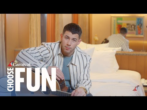 Nick Jonas: Jealous (Live Acoustic) for #Bedstock 2017 | Carnival Cruise Line