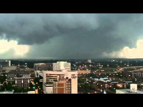 Tornado In Dallas Texas 2011 YouTube