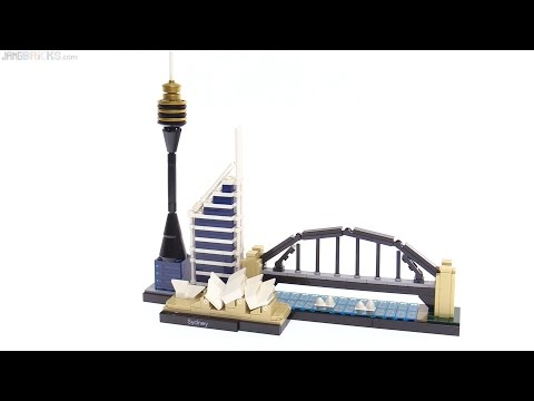 LEGO Architecture Sydney skyline review🇦🇺21032