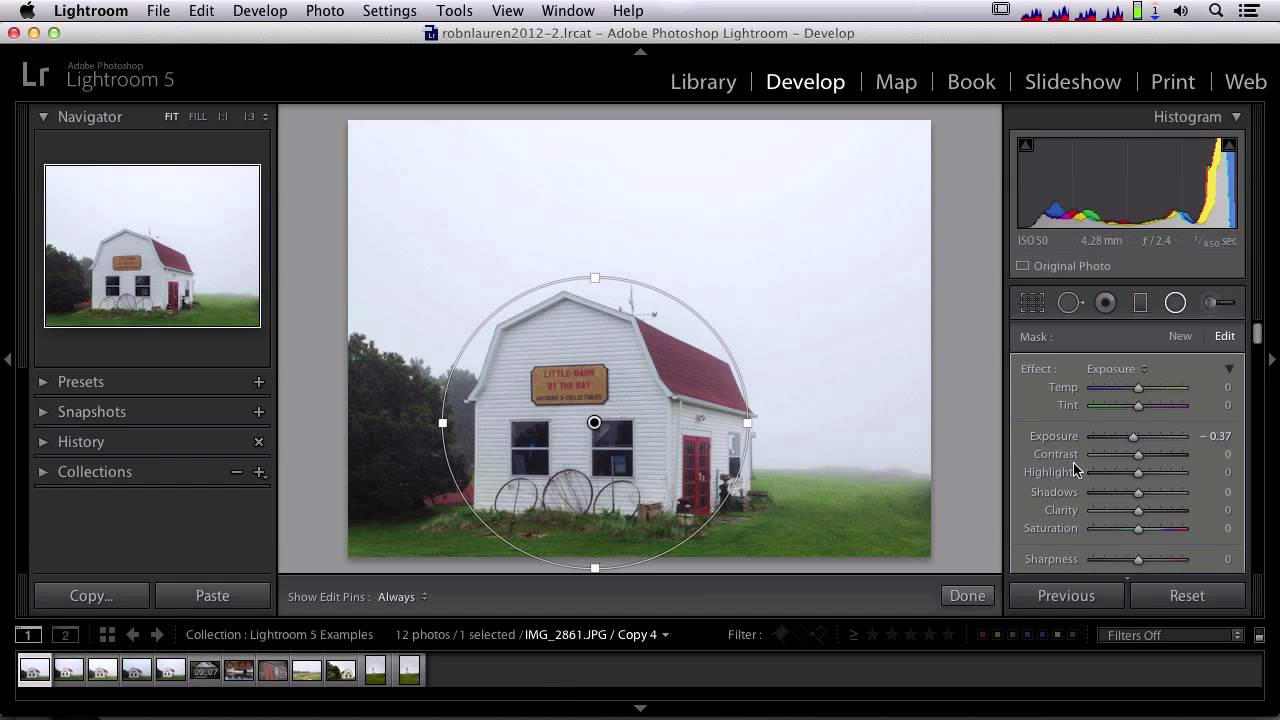 What's New In Lightroom 5