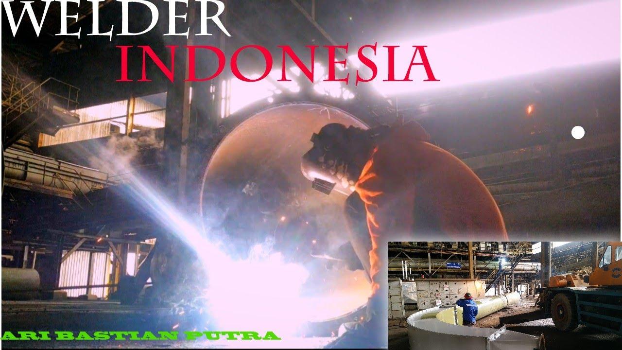 Berjuang Sendiri Lebih Indah Welder Indonesia Di Malaysia Youtube