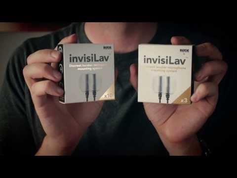 Hide your lavalier mic with the RØDE invisiLav