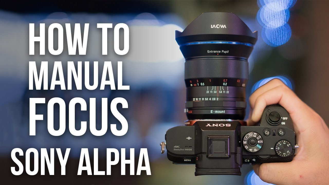 How to Manual Focus on Sony a6000 a6300 a6400 a6500 a7S II a7R II a7RIII  a7III a9