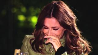 Andre Batchelor Reduces Cheryl to Tears - The X Factor UK on AXS TV