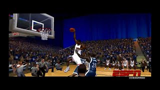 ESPN COLLEGE HOOPS 2K5 - UCONN VS VILLANOVA TITLE GAME