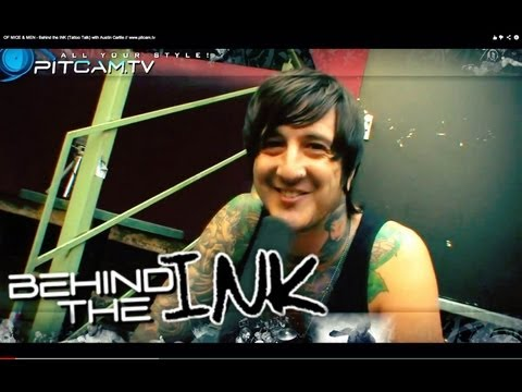 OF MICE & MEN - Behind the INK (Tattoo Talk) with Austin Carlile // www.pitcam.tv