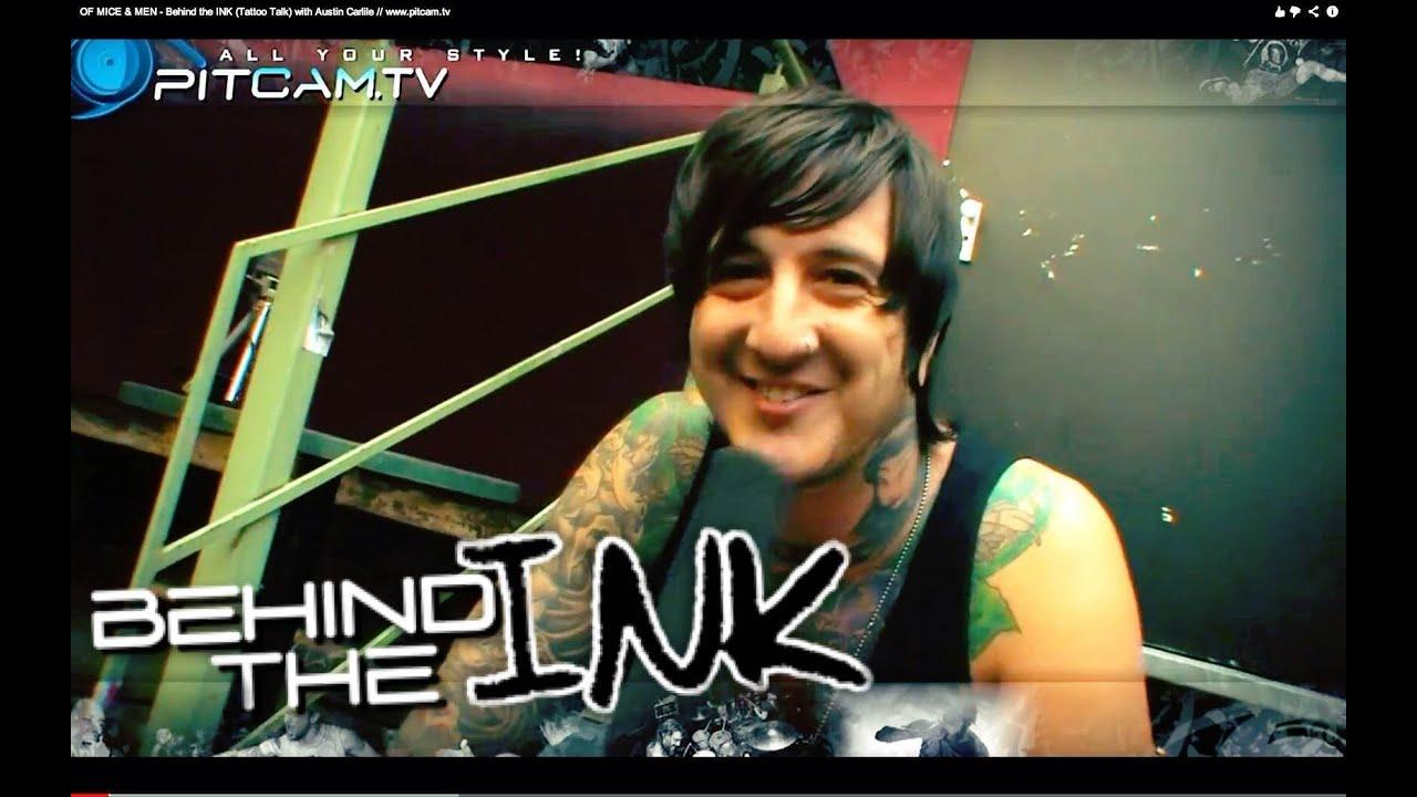 94e084afa7d52 OF MICE & MEN - Behind the INK (Tattoo Talk) with Austin Carlile //  www.pitcam.tv