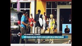 Atlet Peserta Asian Games 2018 Berdatangan ke Jakabaring, Palembang -  iNews Siang 11/08