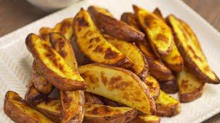 Картофельные дольки с идеальной хрустящей корочкой. Готовятся быстро, получаются Всегда Вкусно!