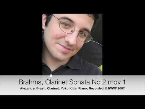 Brahms Clarinet Sonata No. 2 Mov 1
